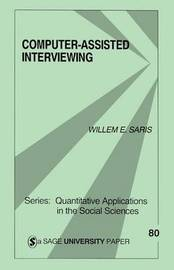 Computer-Assisted Interviewing by Willem Egbert Saris image