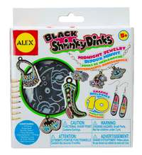 Alex: Shrinky Dinks - Midnight Jewellery
