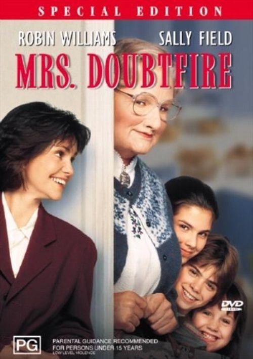 Mrs Doubtfire on DVD