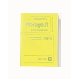 Storage.it 2018 Weekly A6 Diary - Neon Yellow