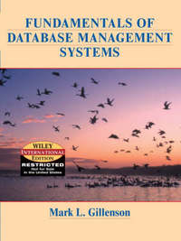 Fundamentals of Database Management Systems by Mark L. Gillenson image