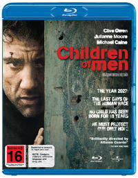 Children of Men on Blu-ray