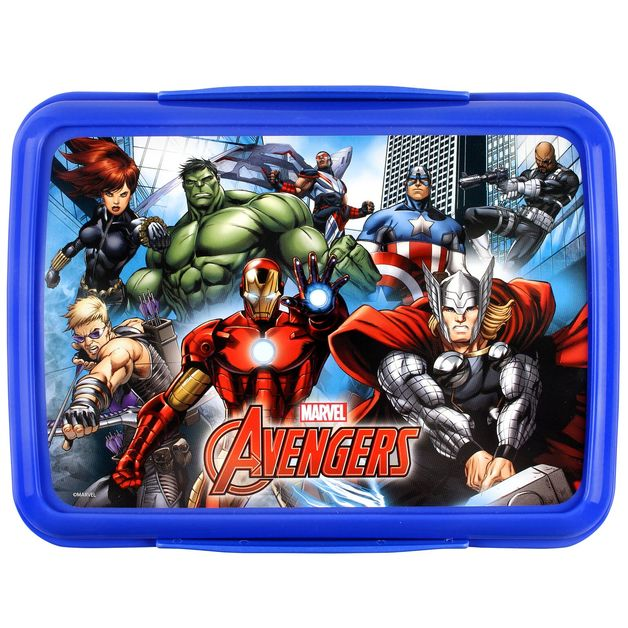 Marvel Avengers Klip It Lunchbox (2L)