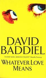 Whatever Love Means by David Baddiel
