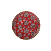 Maxwell & Williams Teas & C's Isfara Plate - Pashar Red (20cm)