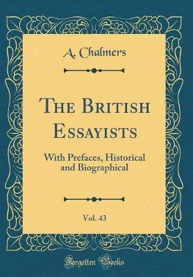 The British Essayists, Vol. 43 by Alexander Chalmers image
