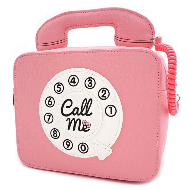 7b5f700c4 Loungefly: Hello Kitty - Call Me Telephone Cross Body Bag | Women's | at  Mighty Ape Australia