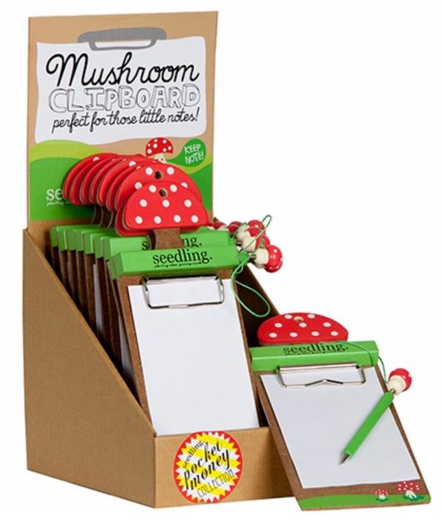 Seedling - Mushroom Clipboard