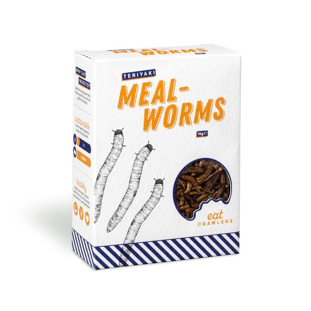 Eat Crawlers: Teriyaki Mealworms (15g)