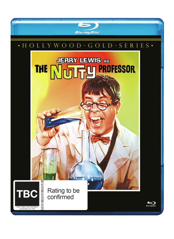 The Nutty Professor on Blu-ray