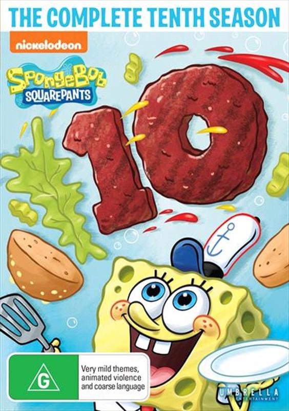 Spongebob Squarepants: Season 10 on DVD