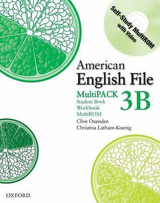 American English File Level 3: Student Book/workbook Multipack B by Christina Latham-Koenig image
