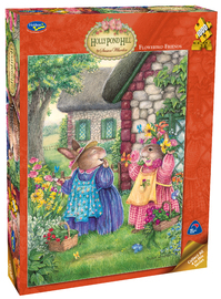 Holdson: 1000pce Puzzles - Holly Pond Hill Flowerbed Friends