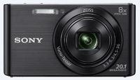 Sony: Cyber-Shot W830 Digital Camera - Black