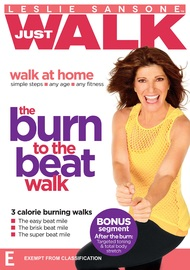 Leslie Sansone - The Burn To The Beat Walk on DVD