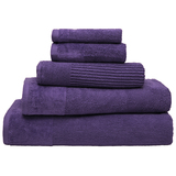 Bambury Costa Cotton Bath Towel (Grape)