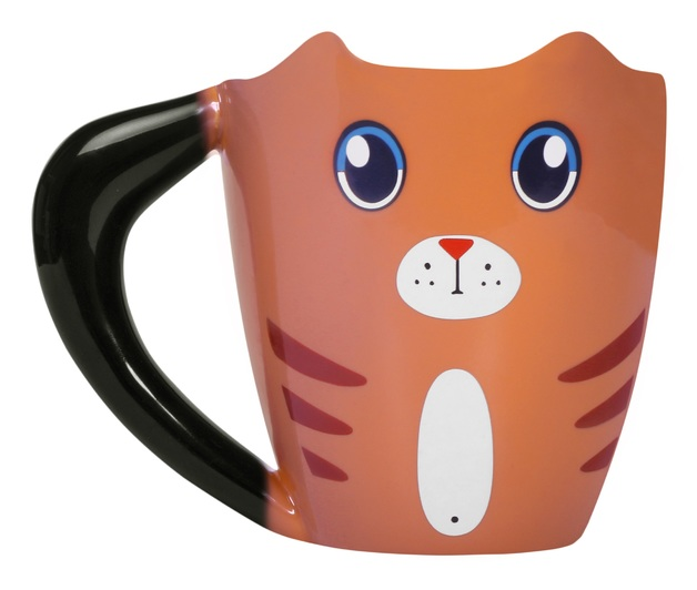 Thumbs Up: Colour Changing Ginger Cat Mug