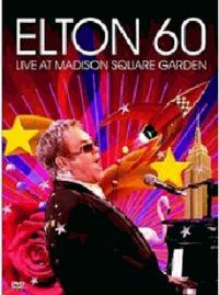 Elton 60: Live at Madison Square Garden - Elton John (2 Disc Set) on DVD image