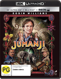 Jumanji on UHD Blu-ray