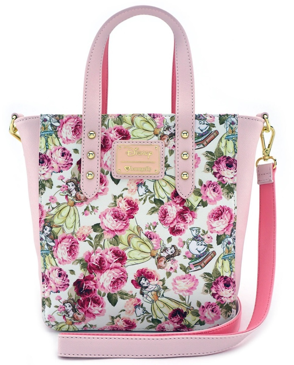 355f0bc076e Loungefly  Disney Beauty and the Beast - Floral Crossbody Purse image ...