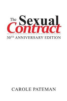 The Sexual Contract by Carole Pateman image