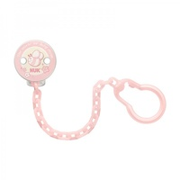 NUK: Soother Chain - Baby Rose