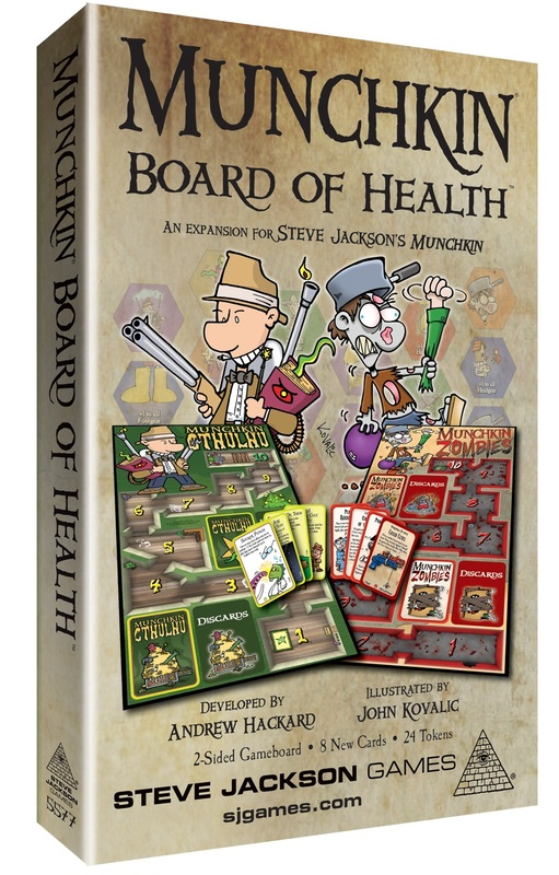 Munchkin: Board of Health - Game Expansion