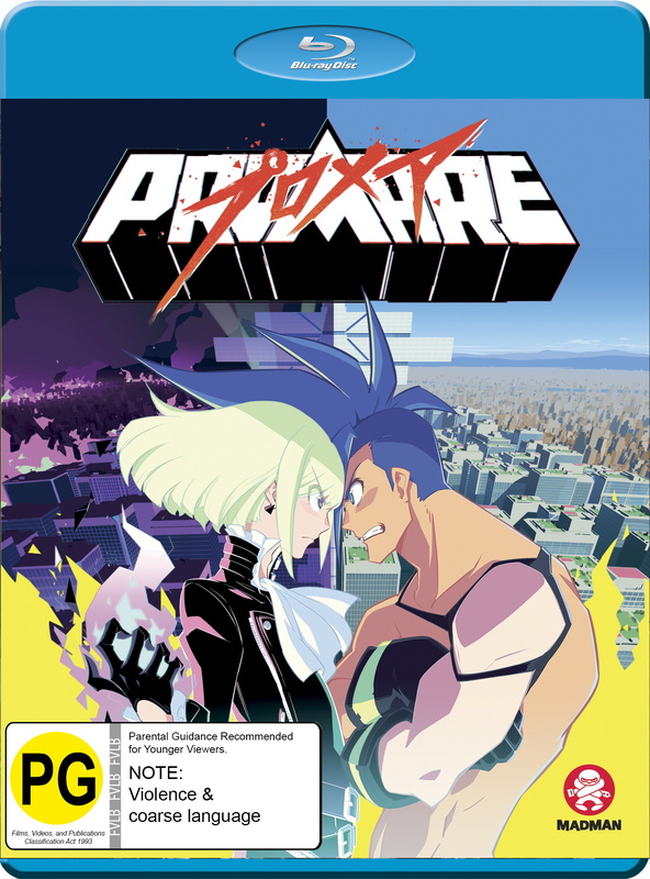 Promare on Blu-ray