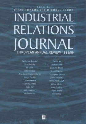 Industrial Relations Journal European Annual Review: 1998 image