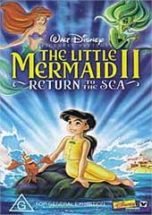 Little Mermaid 2, The - Return To The Sea on DVD