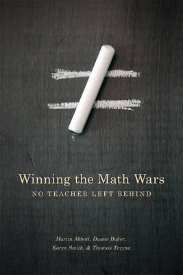 Winning the Math Wars by Martin L. Abbott image
