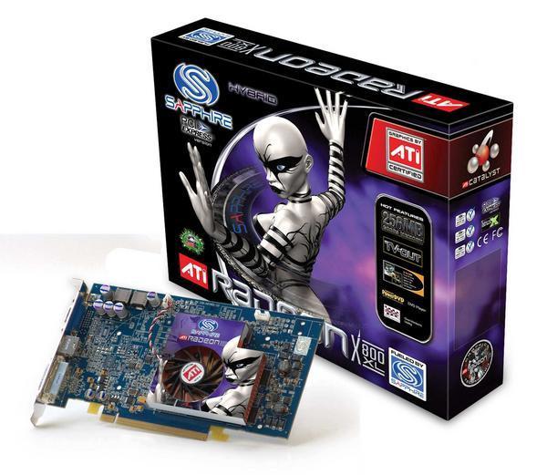 Sapphire Radeon Video Card X800XL 256MB DDR3 VIVO AGP