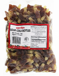 Kervan Sour Cola Bottles (2kg)