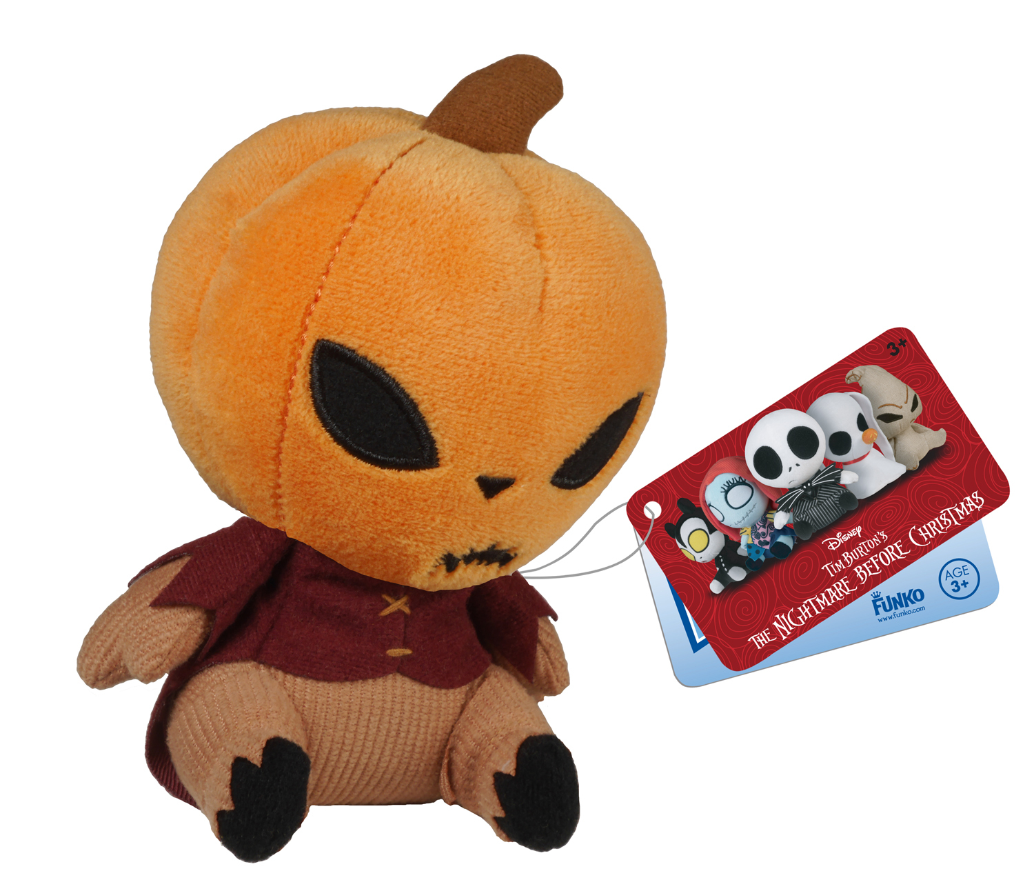 Nightmare Before Christmas Mopeez - Pumpkin King Plush | Toy | at ...