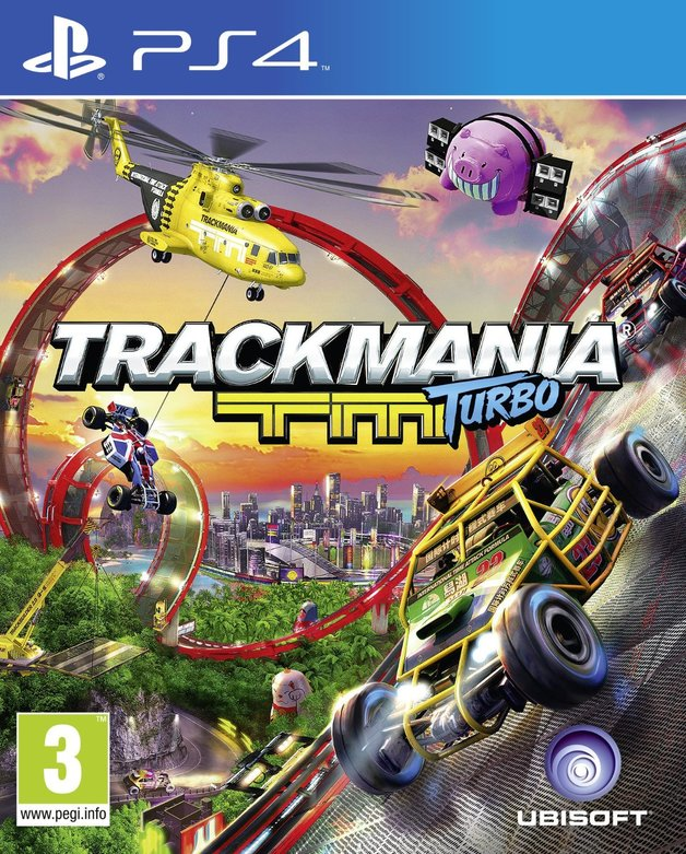 Trackmania Turbo for PS4