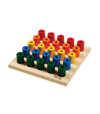 Tri-ang Wooden Build Up Peg Board