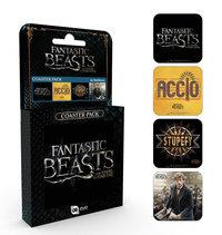 Fantastic Beasts Coasters (4-pack)
