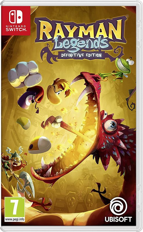 Rayman Legends Definitive Edition for Switch