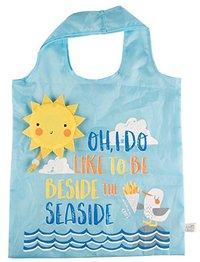 Naughty Gull Foldable Shopping Bag