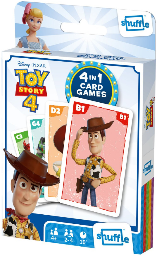 Shuffle: 4-In-1 Card Games - Toy Story 4 image