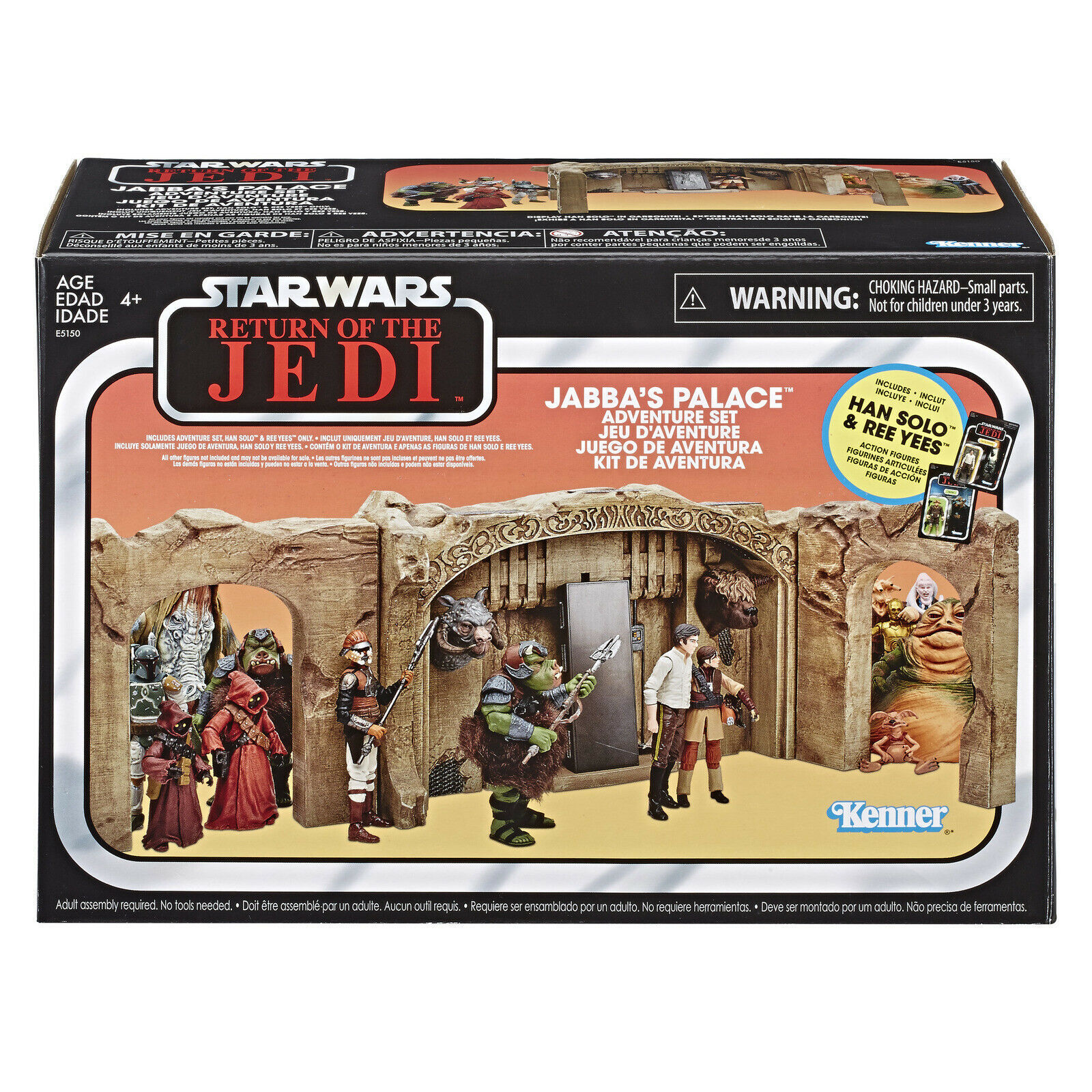 Star Wars Exclusive The Vintage Collection: Episode VI Return of The Jedi - Jabba's Palace Adventure Playset image