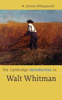 The Cambridge Introduction to Walt Whitman by M.Jimmie Killingsworth image