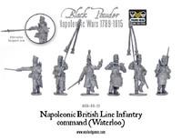 Napoleonic Wars: British Line Infantry Command (Waterloo)