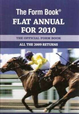 The Form Book Flat Annual for 2010 image