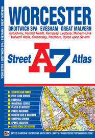 Worcester Street Atlas by Geographers A-Z Map Company