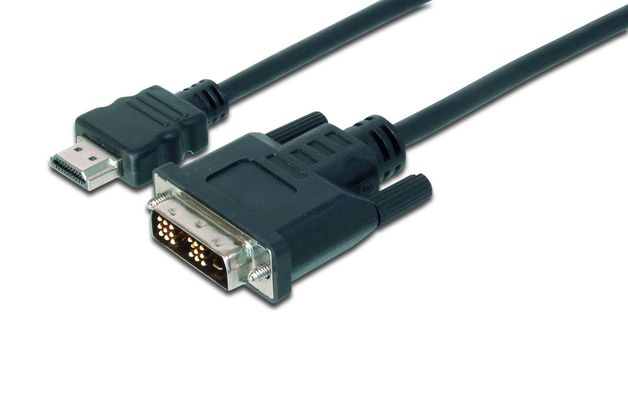 2M HDMI Cable DVI-D - HDMI