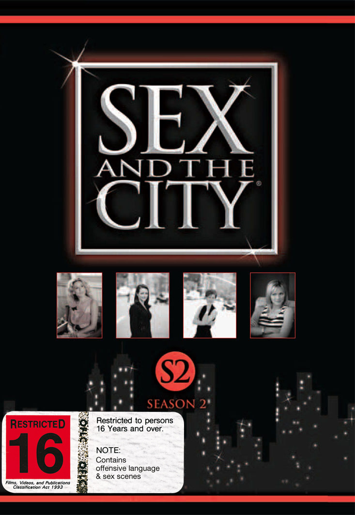 Sex And The City - Season 2 (3 Disc Set) image