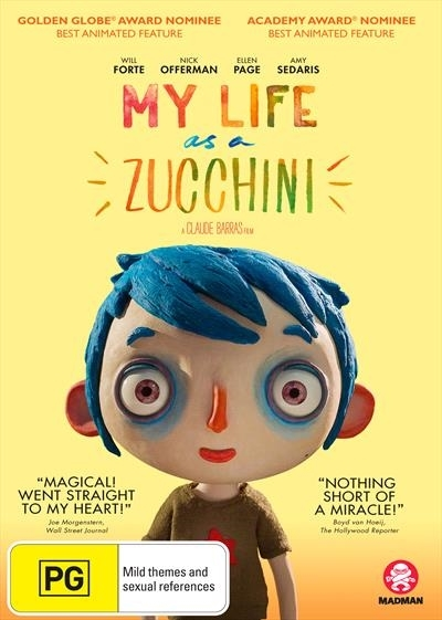 My Life As A Zucchini on DVD image