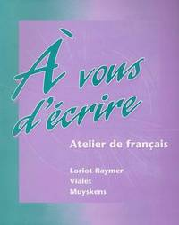 Vous D'aecrire: Atelier De Franethcais by Judith A Muyskens image