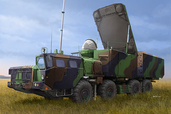 Trumpeter 1/35 Russian 30N6E Flapid Radar Sys. - Scale Model